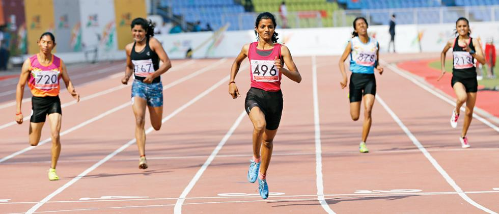Avantika sprints to 200m gold, Men's relay team gets disqualified