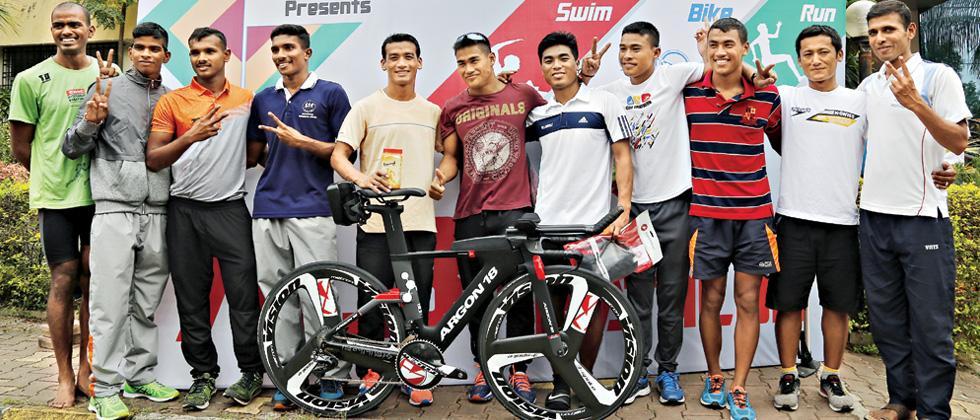 1-2 finish for Bishorjit and Bitan in Half Ironman trials