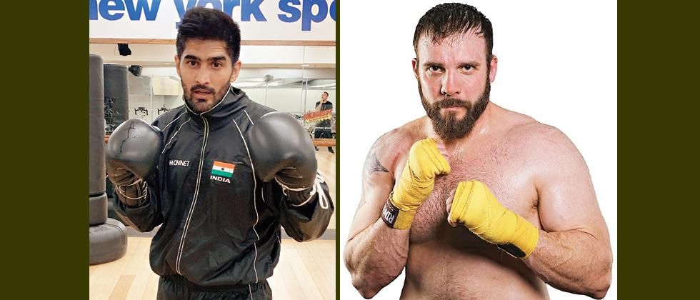 Vijender Singh looking for bright start in US debut against Mike Snider