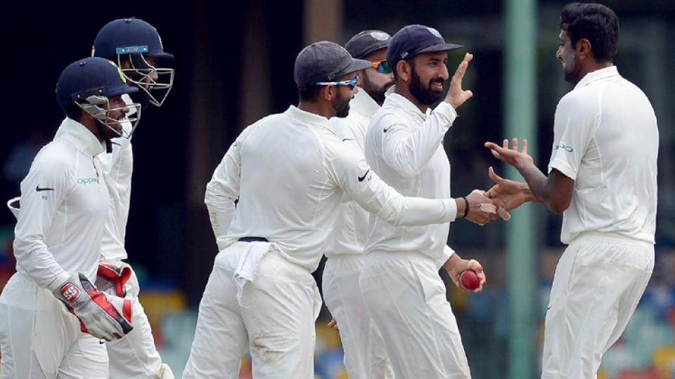 India enforce follow-on after Ashwin runs through Sri Lanka