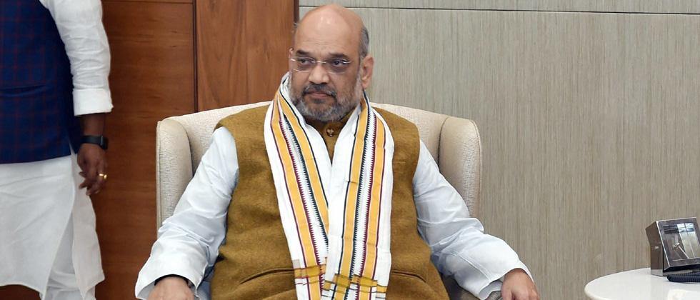 Shah attacks Cong after CBI books Punjab CM's son-in-law for bank fraud