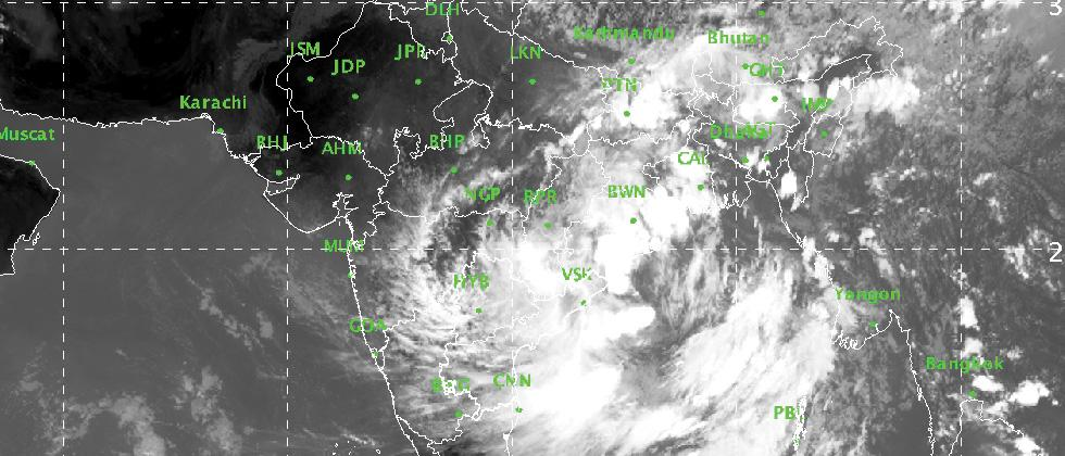 Cyclone alert issued for Odisha, Andhra Pradesh