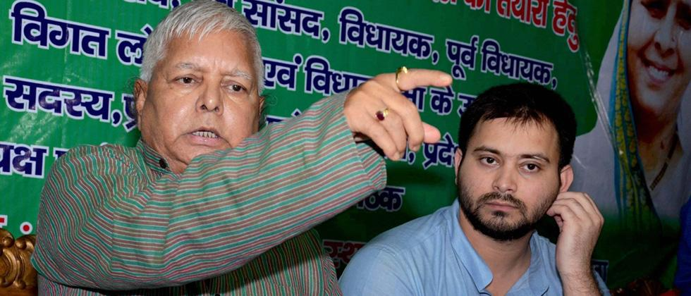 ED raids premises of Lalu's daughter, her husband