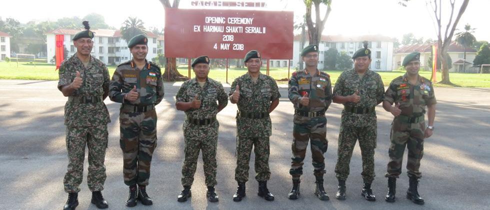 Harimau Shakti: Indian & Malaysian Army learn jungle survival techniques
