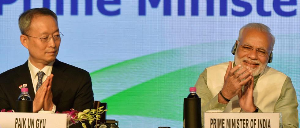 India - S.Korea bilateral trade touched $20bn in 2017: Modi