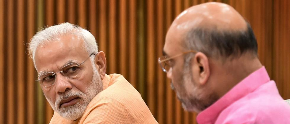 Modi, Shah lead BJP MPs fast against Parliament disruption