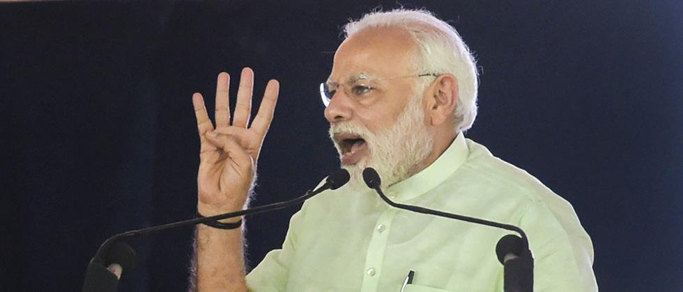 Modi says 10 cr LPG connections given in 4 yrs against 13 cr in 6 decades