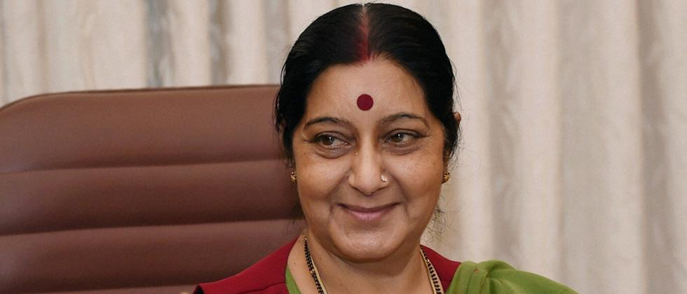No comprehensive dialogue with Pakistan till it shuns terrorism: Swaraj