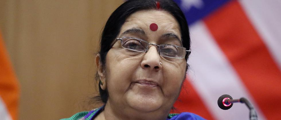 Sushma Swaraj seeks report on attack on Swiss couple