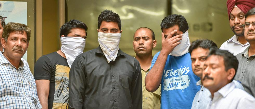3 held for leaking Class 12 Economics paper