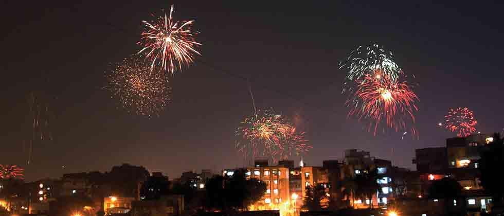 Diwali illuminates India