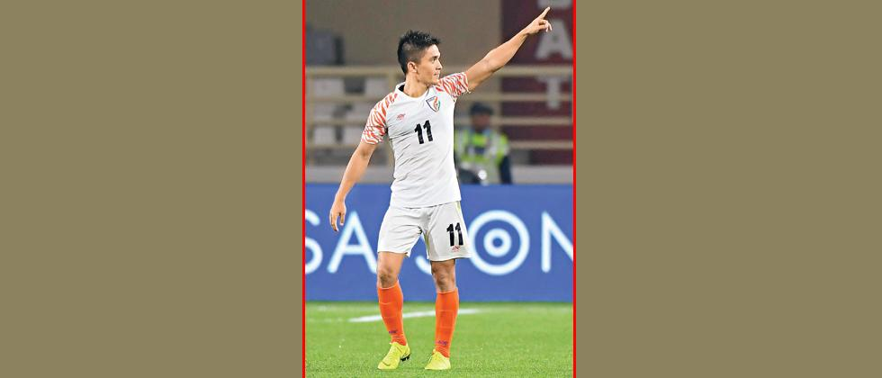 'Mary inspires me, I am her big fan: Chhetri