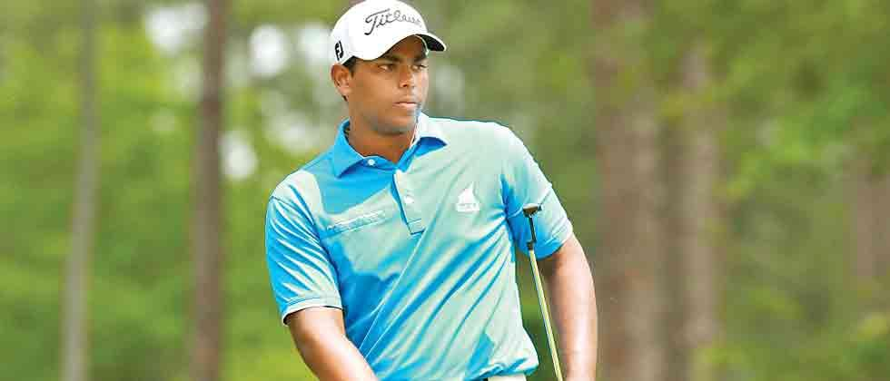 Rayhan Thomas dreaming of a spot in Masters
