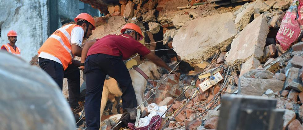 Ahmedabad building collapse: One body recovered, 4 rescued