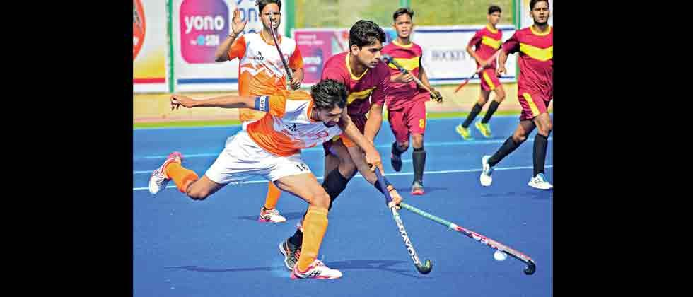 Maharashtra pipped by unbeaten Delhi boys
