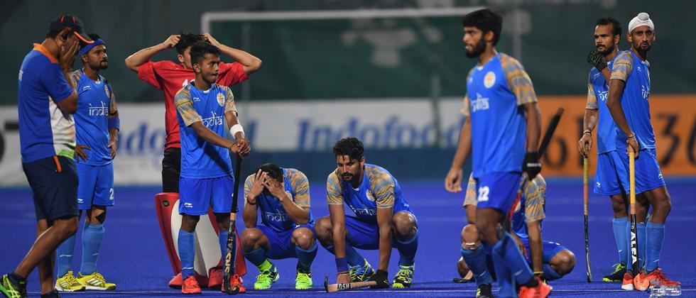 Record goal-scoring India crash out of title race
