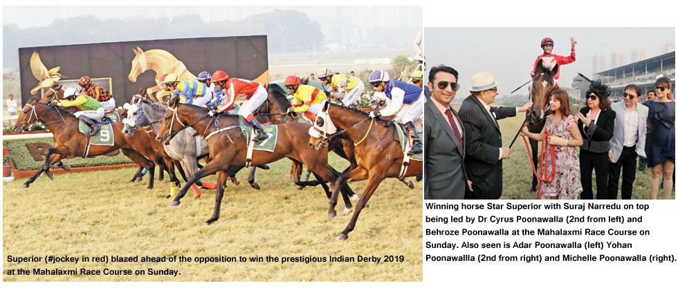 Star Superior romps to Indian Derby win