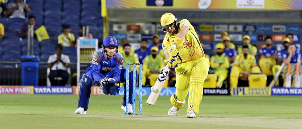 Watson brings fireworks to CSK's new home
