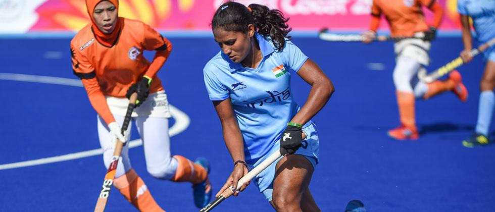 Indian Women's Hockey Team defeat Malaysia 4-1 in their second CWG match