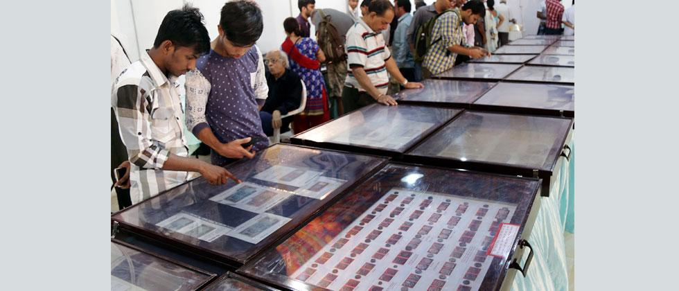 Rare coins, stamps, currency notes on display at Coinex exhibition