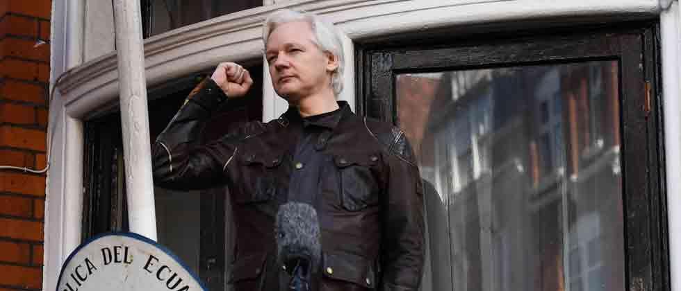 Julian Assange arrested from UK embassy hideout, says Scotland Yard