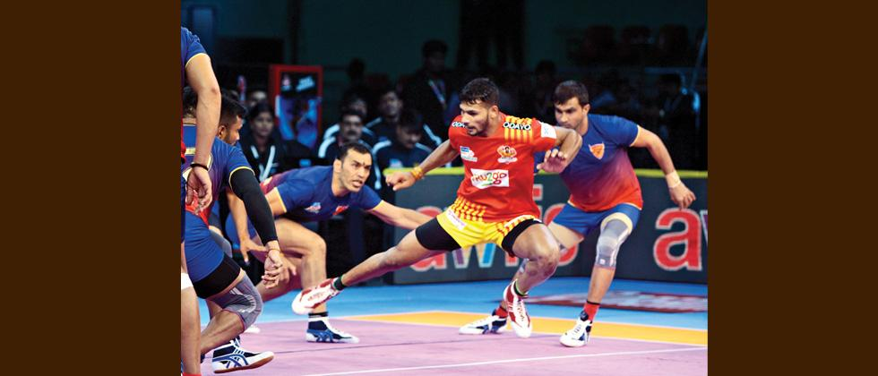 Dabang Delhi draws against Gujarat