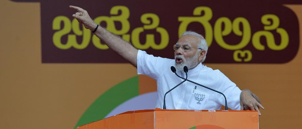 Modi says Gowda has tacit understanding with Congress in Karnataka