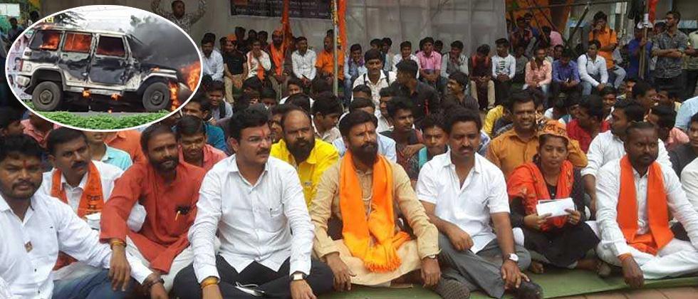 Maratha quota stir turns violent; call given for Mumbai bandh tomorrow