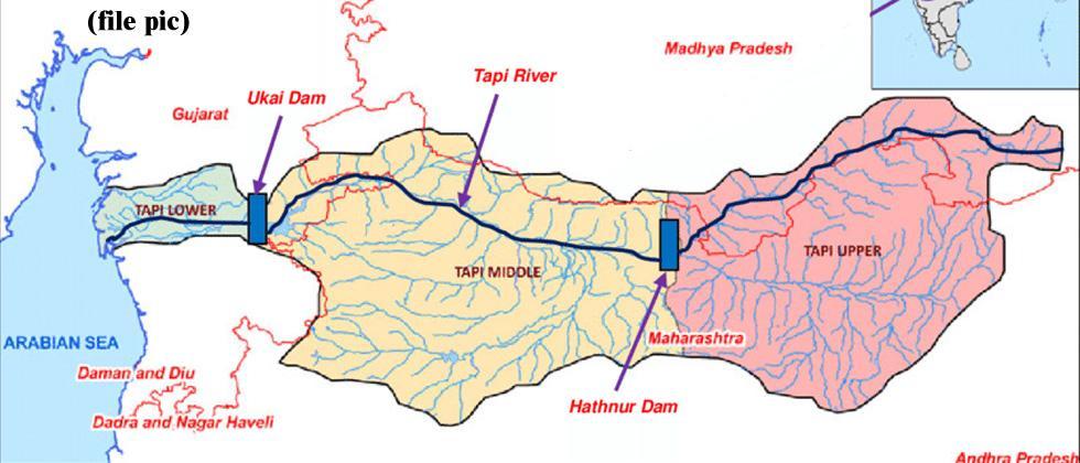 Gujarat not to divert water for P-T-N proj
