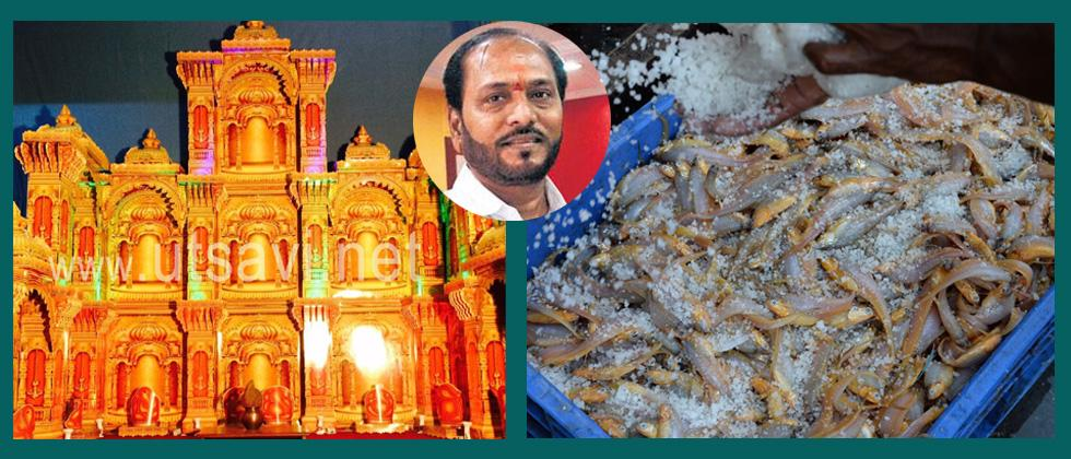 Thermocol for decoration, fish storage not banned: Kadam