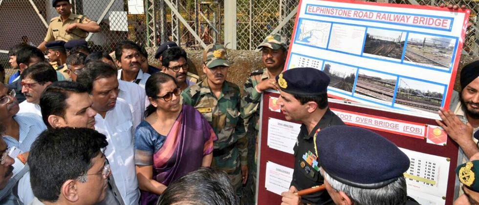 Army will build 3 FoBs at Mumbai rly stations