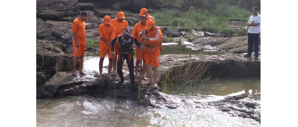 NDRF in rescue operation