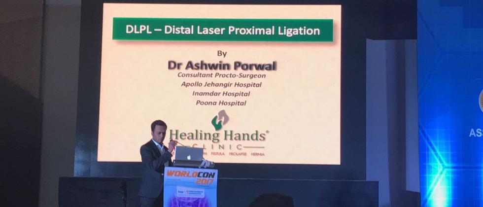 Dr. Ashwin Porwal presents DLPL Technique at WorldCon 2017