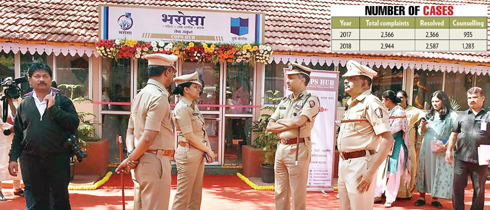 Bharosa Cell resolves half of its domestic disputes via counselling