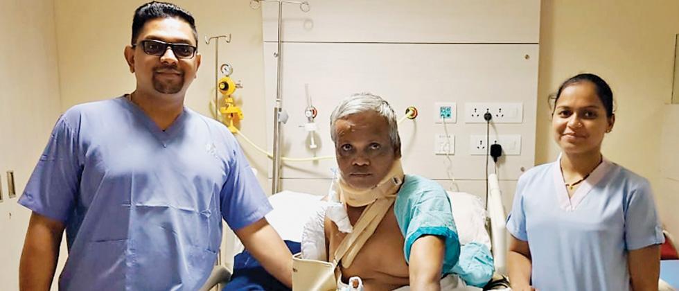 Docs save life of critically hurt Jalgaon Farmer