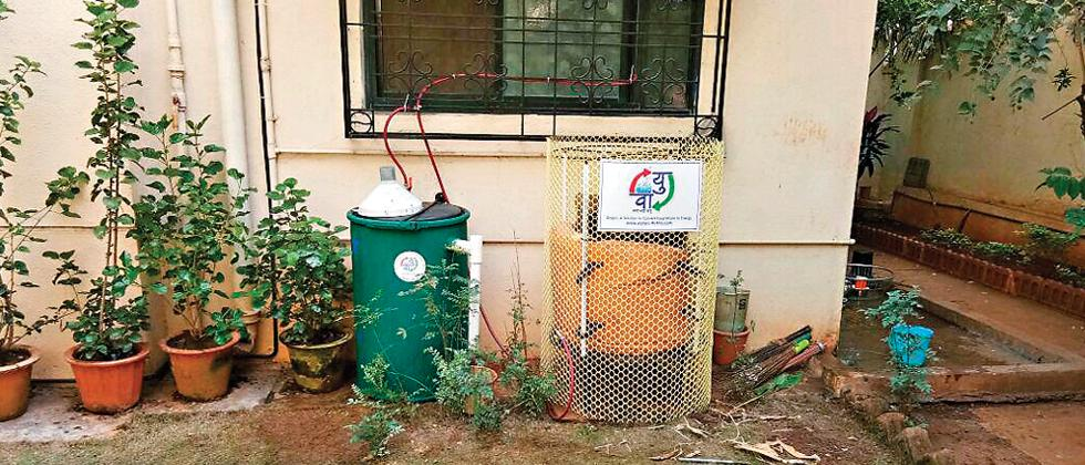 From organic waste to biogas Vaayu
