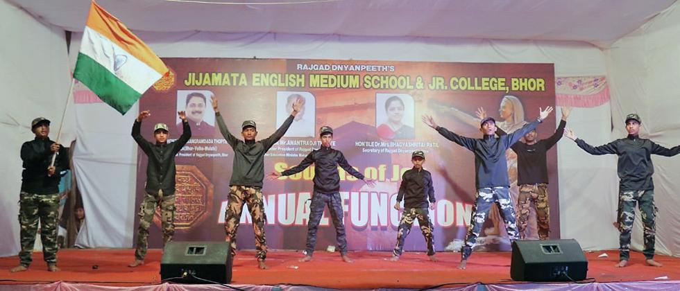 Jijamata English Medium School & Junior College holds annual function