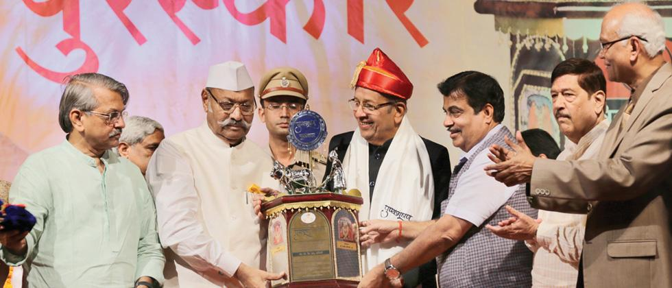 Dr KH Sancheti felicitated with Punyabhushan Award 2017