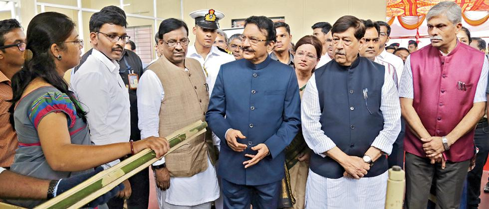 Maha Guv inaugurates BHAU centre at SPPU