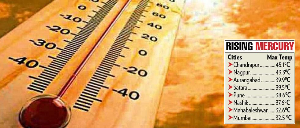 Many cities in State sizzle at 40 degree Celsius