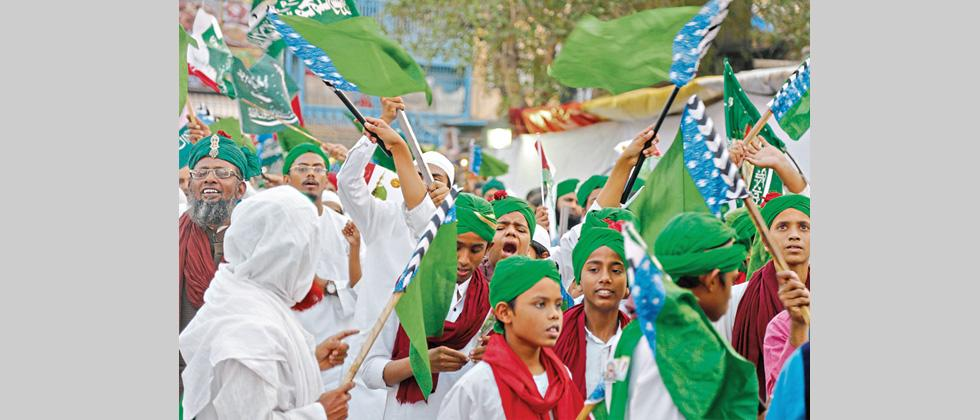 Milad-Un-Nabi celebrated with religious fervour in city