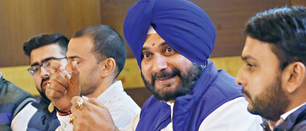 BJP has turned loktantra into dandatantra: Sidhu