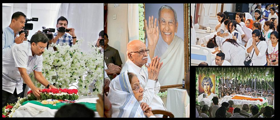 Political leaders, personalities throng to bid adieu to Dada