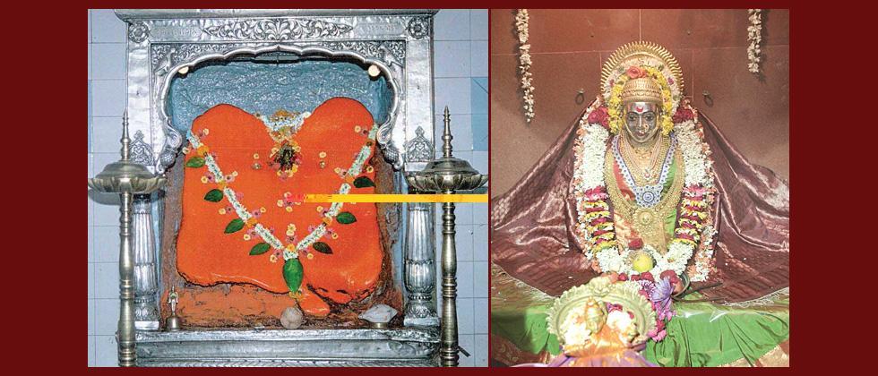 Processions of Goddess Chatuhshrungi and Tambadi Jogeshwari today