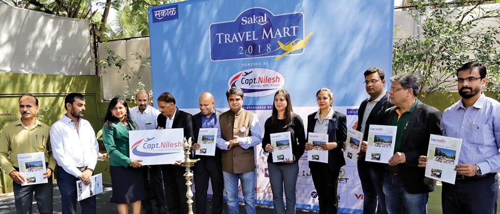 Sakal Travel Mart Exhibition kicks off with pomp in city