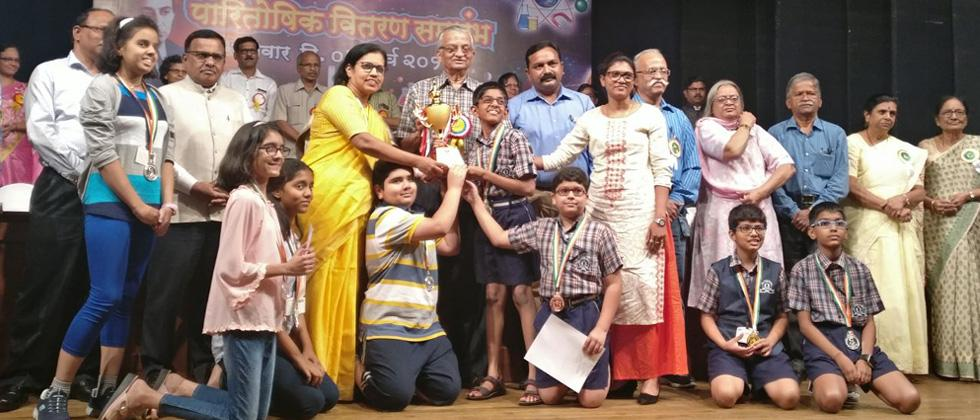 City Pride School wins Best Performing School Trophy