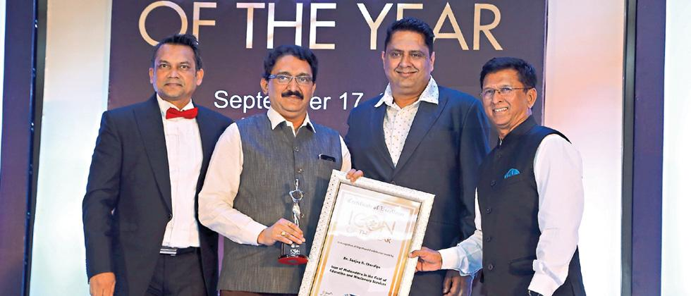 Suryadatta Group awarded Icon of Maharashtra