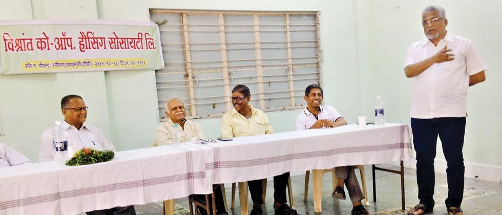 Vishrantwadi residents gear up to save water