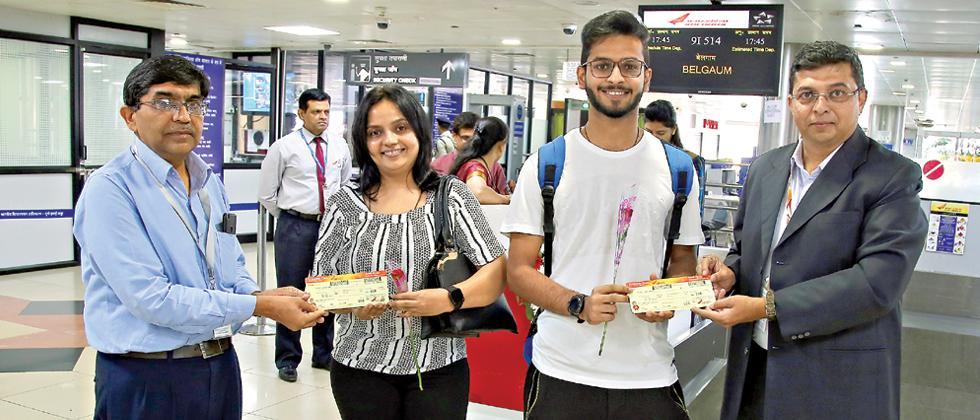 50 passengers take first Pune-Belgaum RCS flight