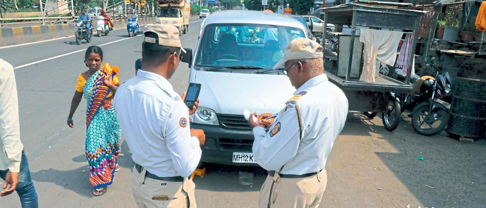 24k traffic offenders penalised in PCMC areas